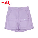 skirt Spring 2021 M L Short skirt Natural waist Solid color 25-29 years old 51% (inclusive) - 70% (inclusive) X-GIRL polyester fiber Polyester 65% cotton 35% Same model in shopping mall (sold online and offline)