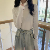 T-shirt M L XL Winter 2020 Long sleeves High collar easy Regular routine commute polyester fiber 86% (inclusive) -95% (inclusive) 18-24 years old Korean version youth Love Mengwei Polyester 95% polyurethane elastic fiber (spandex) 5% Exclusive payment of tmall