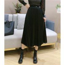 skirt Winter 2016 M, L Black, brown
