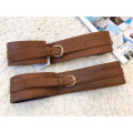 Belt / belt / chain Pu (artificial leather) Brown dark brown female Sweet Single loop youth Pin buckle sndymer
