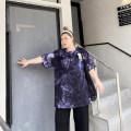 Women's large Summer 2021 navy blue Big average, small average T-shirt singleton  commute moderate Socket Short sleeve other Korean version Crew neck Medium length cotton Xin Cun Zhen 25-29 years old