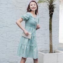 Dress Summer 2021 blue S,M,L,XL A8L303617B