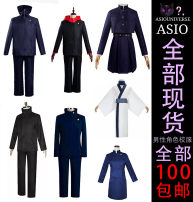 Cosplay women's wear suit goods in stock Over 8 years old comic L,M,S,XL,XXL Cos clothing Men's size Navy Blue