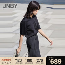 Dress Spring 2020 269 / green card 001 / Ben Hei 269 / green card 001 / Ben Hei XS S M L XL Middle-skirt Fake two pieces Short sleeve commute Crew neck middle-waisted other Socket A-line skirt routine Others 25-29 years old Type A JNBY / Jiangnan cloth clothing Simplicity 5J4510970 More than 95%