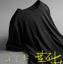 T-shirt black S,M,L Long sleeves other Straight cylinder cotton 96% and above Other / other