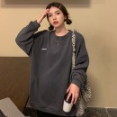 Sweater / sweater Spring 2021 S M L XL Long sleeves routine Socket singleton  routine Crew neck easy commute routine letter 18-24 years old 96% and above Gehan Meiyi Korean version other printing Cotton liner Other 100.00% Exclusive payment of tmall