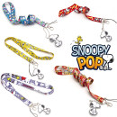 Cartoon card / Pendant / stationery Over 14 years old Keychain / Pendant Other Red check cartoon Snoopy drawstring yellow characters collection Snoopy drawstring blue love Snoopy drawstring blue white stripe Snoopy drawstring red claw print Snoopy Drawstring 88cm