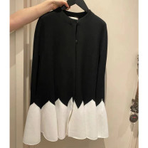 Dress Summer 2020 As shown in the figure S,M,L Short skirt singleton  Short sleeve commute Crew neck middle-waisted other other other routine Others Type H pocket 91% (inclusive) - 95% (inclusive) other cotton