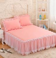 Bed skirt 120cmx200cm, w89-180 * 220cm, n34-150cmx200cm, s81-180cmx200cm with a pair of pillowcases, b25-150cmx200cm with a pair of pillowcases, c46-200 * 220cm, x56-180 * 220cm with a pair of pillowcases, s89-180cmx200cm Others Purple, blue, white, D71 pink, s99 jade, W03 red Other / other Others
