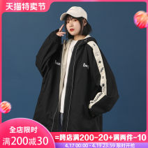 short coat Spring 2021 S M L XL Long sleeves routine routine singleton  easy commute routine Hood zipper Animal design 18-24 years old Natural astringency 96% and above printing HW-9523 cotton cotton Cotton 98% other 2% Pure e-commerce (online only)