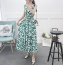 Women's large Summer 2020, spring 2020 Color 1, color 2, color 3, color 6, color 7, color 8, color 10, color 11, color 12, color 16, color 22, 30, 31, 32, 33, 20 S [75-85 Jin], m [85-100 Jin], l [100-110 Jin], XL [110-120 Jin], 2XL [120-130 Jin], 3XL [130-140 Jin], 4XL [140-155 Jin] Dress singleton