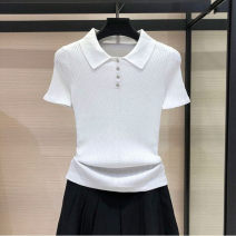 T-shirt Navy, green, white 2/S,3/M,4/L,5/XL Summer 2021 Short sleeve Polo collar Self cultivation Regular routine commute cotton 71% (inclusive) - 85% (inclusive) Simplicity literature Solid color Brother amashsin 5399005-1T00522-003