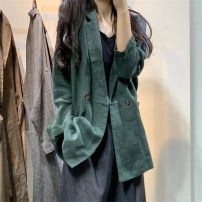 shirt Average size Autumn of 2019 hemp 96% and above Long sleeves Versatile Regular tailored collar other routine Solid color Other / other hemp
