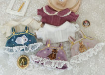 Doll / accessories Over 14 years old parts DIY China 15cm The shirt is beige, the shirt is pure white, the shirt is purplish red, the skirt is light pink, the skirt is lake blue, the skirt is purple Over 14 years old nothing