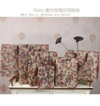 Gift bag / plastic bag 32 * 11 * 28 medium horizontal thickening