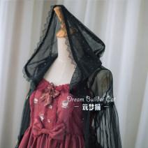 Lolita / soft girl / dress Dream cat Black veil 50. M, s, XL, made to measure No season goods in stock Classic, Gothic, Lolita