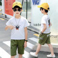suit Other / other male summer Korean version Short sleeve + pants 2 pieces Thin money There are models in the real shooting Socket nothing Cartoon animation cotton birthday Class B Cotton 95% other 5% Six, seven, eight, nine, ten, eleven, twelve, thirteen, fourteen Chinese Mainland Hebei Province