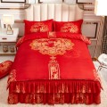Bed skirt 1.5m bed: 4-piece bed skirt, 1.8m bed: 4-piece bed skirt, 2.0m bed: 4-piece bed skirt Others Other / other Plants and flowers Qualified products