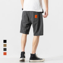 Casual pants Others Youth fashion Dark grey, khaki, black M,L,XL,2XL routine Pant Other leisure easy Micro bomb DK21-0.31 summer teenagers tide 2019 middle-waisted Little feet Sports pants other washing other other cotton cotton Non brand More than 95%
