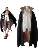 Cosplay men's wear suit Customized Akiba1st Over 14 years old Tailor made, children L, children s, 3XL, 2XL, XL, l, m, s, XS, 2xs comic Average size Japan One piece Hefeng, otaku Shanks / red hair