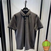 Polo shirt Jiang Taiping and niaoxiang Fashion City routine Dark grey b1dbb2217 S,M,L,XL,2XL Self cultivation Other leisure summer Short sleeve B1DBB2217 Youthful vigor routine youth 2021 Alphanumeric Embroidery