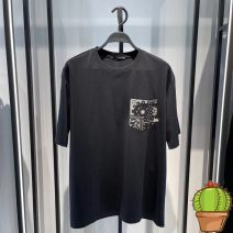 T-shirt Fashion City Black bwdab1512, white bwdab1510 routine S,M,L,XL,2XL Jiang Taiping and niaoxiang Short sleeve Crew neck easy Other leisure summer BWDAB1512 youth routine tide 2021 Ethnic style cotton Retro nationality More than 95%