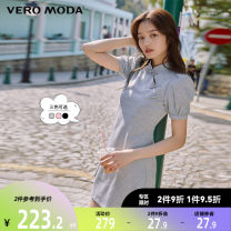 Dress Spring 2021 S69 light grey with decor S59 black C15 deep matte Pink 155/76A/XS 160/80A/S 165/84A/M 170/88A/L 175/92A/XL 180/96A/XXL Middle-skirt 25-29 years old Vero Moda 31% (inclusive) - 50% (inclusive) nylon Same model in shopping mall (sold online and offline)