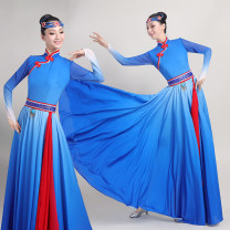 National costume / stage costume Winter 2020 Sky blue as shown in the picture S M L XL XXL XXXL NGYN2020D088 South of the South New polyester fiber 100% Pure e-commerce (online only)