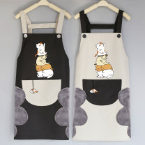 apron Sleeveless apron waterproof Cartoon other Personal washing / cleaning / care Average size 18091 stacked cat Life craftsman public yes Cartoon