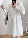 Dress Spring 2021 white S,M,L TRAF
