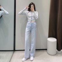 Jeans Spring 2021 Denim blue XS,S,M,L TRAF