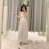Dress Summer of 2019 white XS,S,M,L TRAF