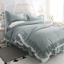 Bed skirt cotton Mary bean paste, Mary pink, Mary grey, Mary blue green, Mary milk white, Anna white, Anna bean paste, Anna pink, Anna grey, Anna grey green, Anna blue grey, love white, love pink, love grey, love blue, love green, love purple Other / other Solid color Qualified products