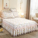 Bed skirt cotton Long sea of flowers, then flowers, flowers, deep bean paste, vitality orange, temperament gray, feather dream, cool purple, clear sky blue, rhythm powder, lotus jade, Odin blue Other / other Plants and flowers Qualified products Y58698625