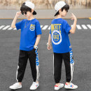 suit Other / other Blue, yellow 110cm,120cm,130cm,140cm,150cm,160cm,170cm male spring and autumn leisure time Long sleeve + pants 2 pieces routine There are models in the real shooting Socket nothing Cartoon animation other children Expression of love Other 100% Chinese Mainland Shandong Province