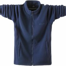 Jacket Other / other Youth fashion Black, blue, navy blue, dark gray, jujube red, dark gray with velvet thickening, black with velvet thickening, jujube red with velvet thickening, dark blue with velvet thickening thick easy Other leisure winter Long sleeves Wear out stand collar tide Large size