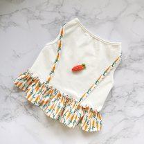Pet clothing / raincoat currency vest S. M, l, XL, XXL, custom shot (note size) Other / other princess Radish vest skirt