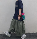 Casual pants Others other Khaki, black, army green M, L Ninth pants Travel? easy C182 Other 100%