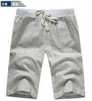 Casual pants Others Fashion City M,L,XL thin Shorts (up to knee) Other leisure Straight cylinder youth Japanese Retro Straight cylinder Cotton and hemp