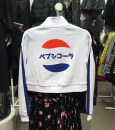 Sweater / sweater Autumn of 2018 White (Pepsi), white (Kodak) L(175/104A),M(170/96A),XS(160/80A),S(165/88A) Long sleeves routine Socket singleton  Plush Crew neck easy Sweet routine Solid color hmtwelve printing cotton Intradermal bile duct college