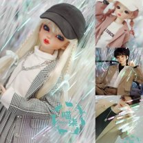 BJD doll zone suit other Over 14 years old goods in stock Black and white, beige, Grey Pink, khaki Sd17 & Pushu, 1 / 4 & MSD & Juying, 1 / 6 & yosd Meow seven suit