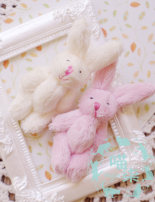 BJD doll zone other other Over 14 years old goods in stock Beibai Pink Long eared rabbit M7