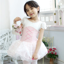Children's performance clothes Pink, light blue female Other / other Class A Ballet Cotton 80% modal fiber (modal) 20% modal  Korean version