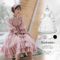 Lolita Dress White, pink, black L,M,S,XL goods in stock Kite house pure cotton