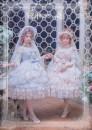 Lolita / soft girl / dress Elpress L Unlimited season, winter, summer, spring, spring and autumn goods in stock Lolita 20200629JSK Beautiful sand photo album in light pink M