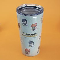 Cartoon water cup / home / department store Mysterious messenger Over 8 years old Stainless steel cup 480ml