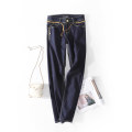 Jeans Spring 2020 trousers Natural waist Overalls routine 18-24 years old Dark color Other / other 71% (inclusive) - 80% (inclusive)