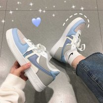 canvas shoe Other / other Low Gang 35,36,37,38,39,40 Spring 2020 Frenulum Korean version rubber Solid color Youth (18-40 years old) Adhesive technology
