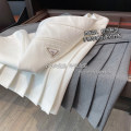 skirt Spring 2021 S,M,L White, gray, black Short skirt fresh High waist Pleated skirt Solid color Type A 30-34 years old