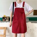 skirt Summer 2020 S [80-95 Jin], m [95-105 Jin], l [105-115 Jin], XL [115-130 Jin], 2XL [130-145 Jin], 3XL [145-160 Jin], 4XL [160-175 Jin], 5XL [175-200 Jin] Mid length dress commute High waist Strapless skirt Solid color Type A 18-24 years old Coardiarn / Kuandian Korean version